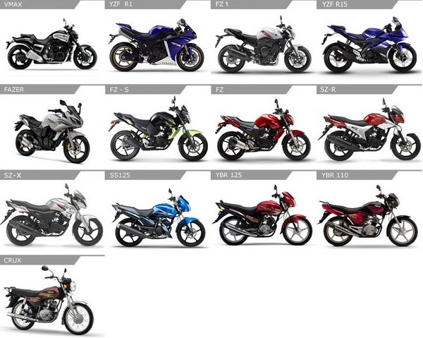 yamaha bikes in india price list car interior design