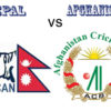 Nepal faces Afghanistan ICC World Twenty20