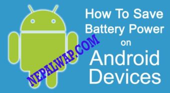 How To Save Android Mobile Battery