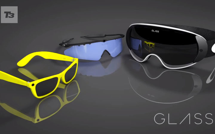 Google Glass Getting Style By Oakley, Ray Ban, Luxottica