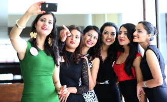 SMS voting code for contestants of Miss Nepal 2015