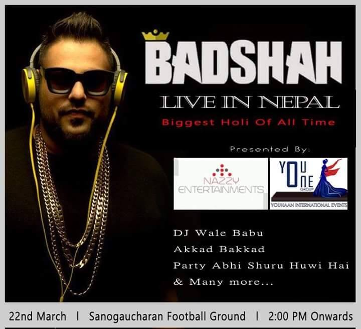 DJ Wale Babu DJ Badshah Live in Nepal Best Rapper of India