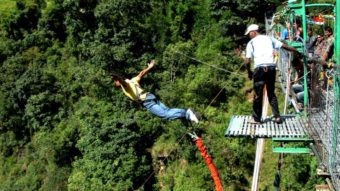 Bungy Jump Location in Nepal Bungy Jump in Pokhara