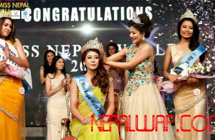 Ashmi Shrestha Won The Crown Of Miss Nepal 2016