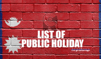 List of Public Holidays in Nepal 2073 B.S. (2016 – 2017)