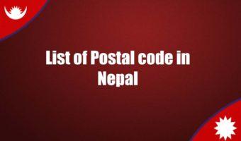 List of postal codes in Nepal ZIP code Pin Code List of Nepal