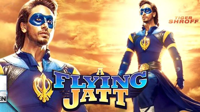 A Flying Jatt Teaser Out – Superhero Movie Tiger Shroff