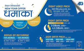 NTC Nepal Telecom New Year Voice and Data Offers
