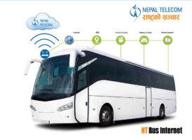 Nepal Telecom NT Bus Internet Service Information