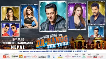 Salman Khan to Entertain his Nepal Fans with Da-Bangg Tour in Nepal
