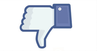 Facebook tests a Negative voting button Against hate comments