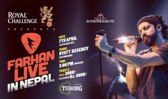 Royal Challenge Presents Farhan Akhtar Live First time in Nepal